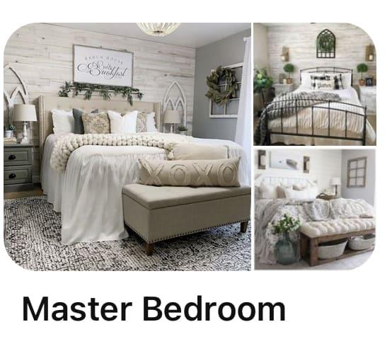Pinterest Board Master Bedroom