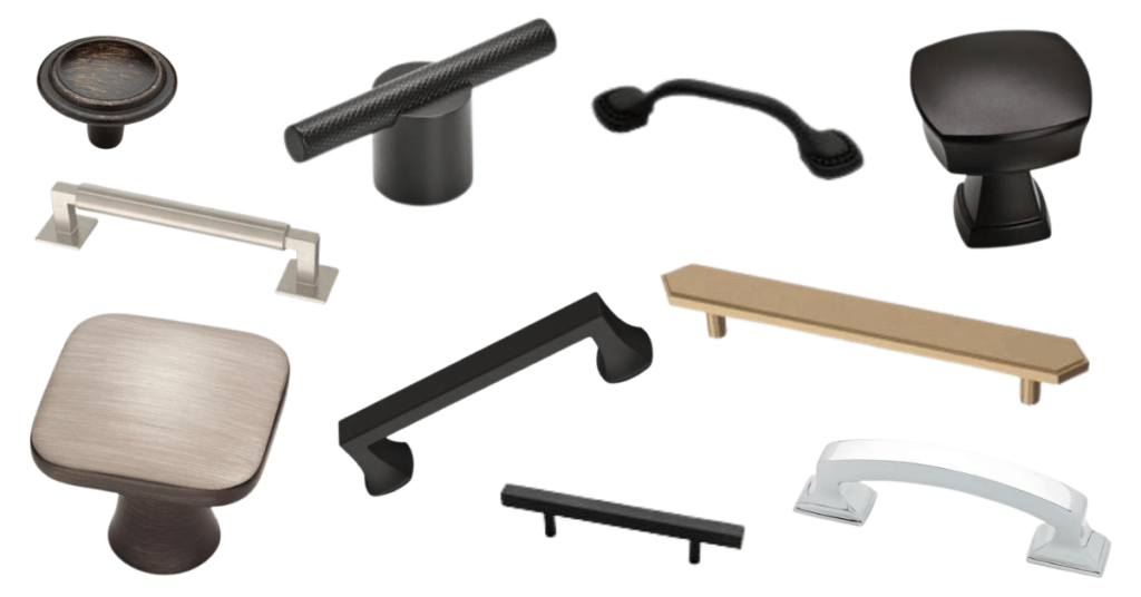 kitchen cabinet hardware options