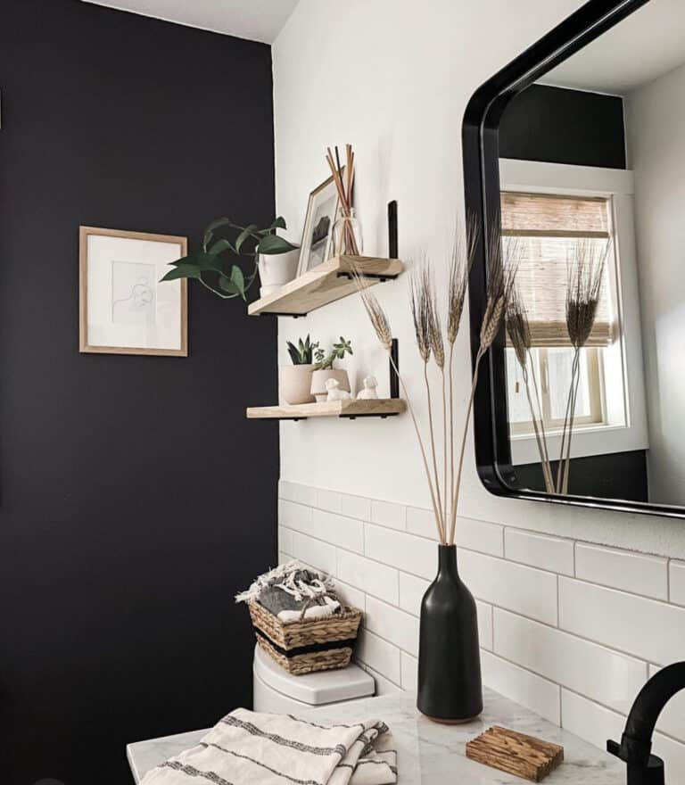 Get The Look: Stunning Black Accent Wall Ideas