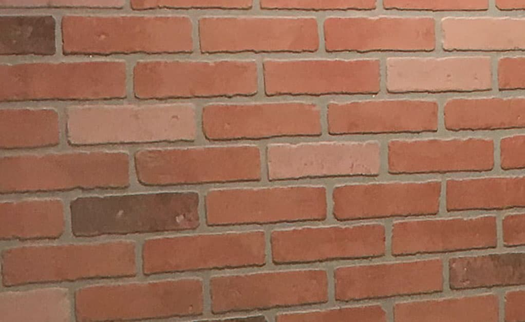 Kingston Brick panel from Home Depot