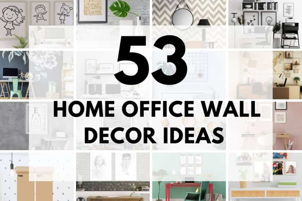 PICTURES OF 16 OUT OF 53 HOME OFFICE WALL DECOR IDEAS