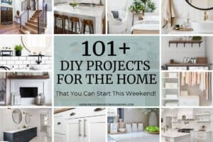 101+ DIY Projects for the home