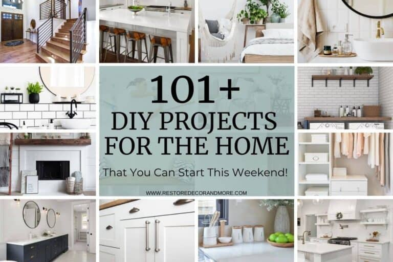 101+ DIY Projects For The Home You Want