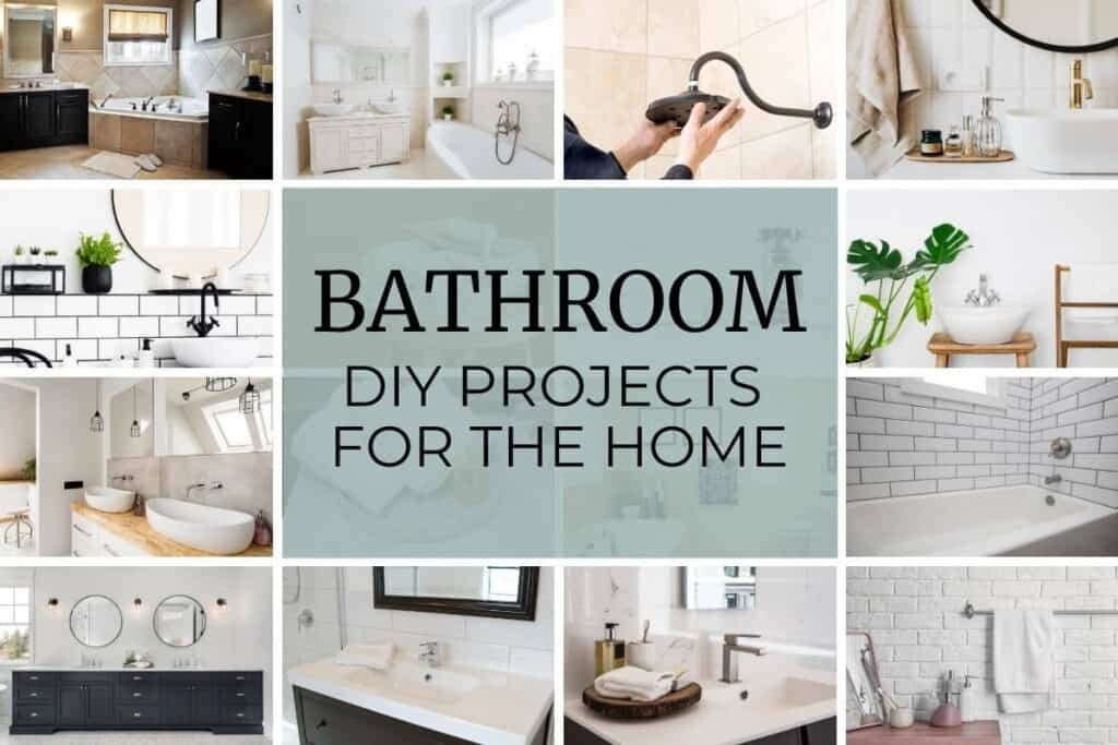 16 PICTURES OF BATHROOM DIY Projects FOR THE HOME