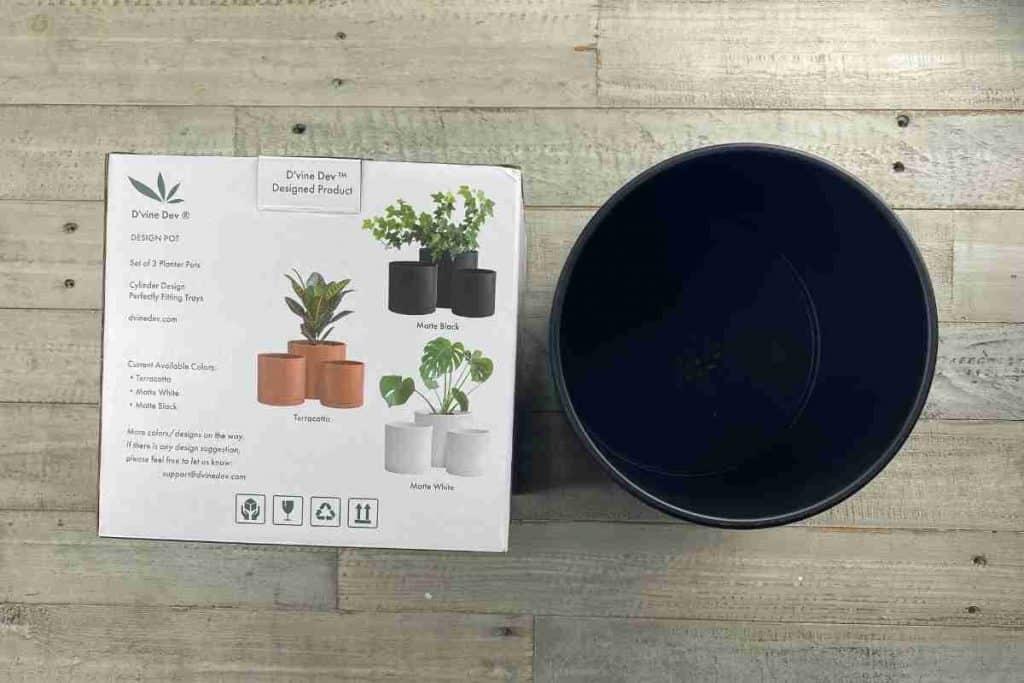 Black Planter Amazon
