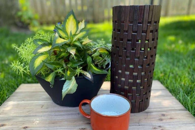 DIY Outdoor Candle Holder – Super Easy