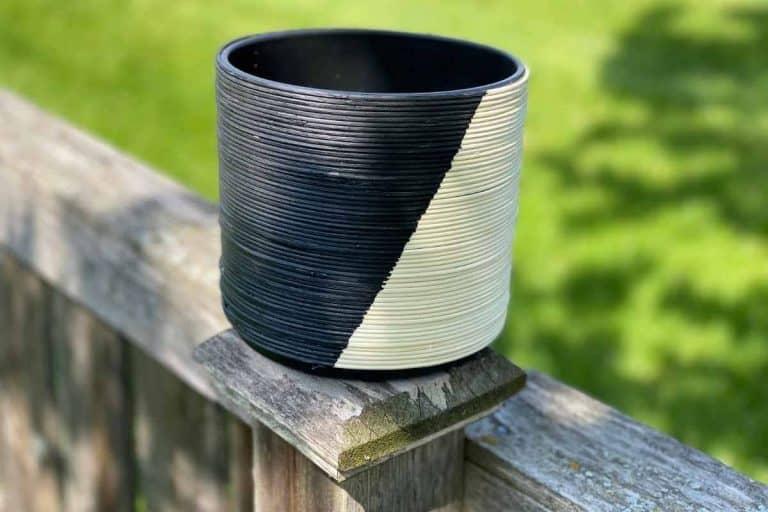 DIY Two-Tone Planter