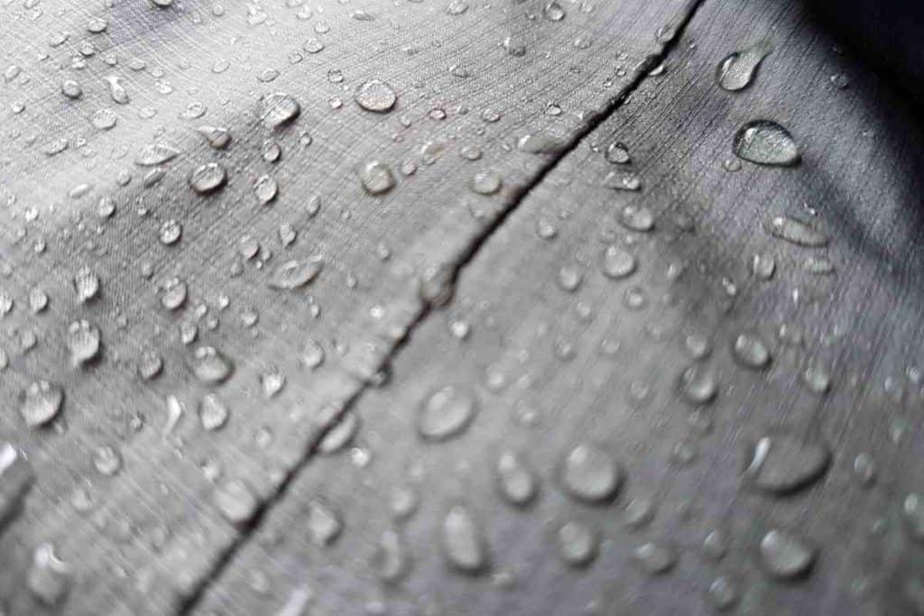 WATERDROPS ON VINYL FLOORING