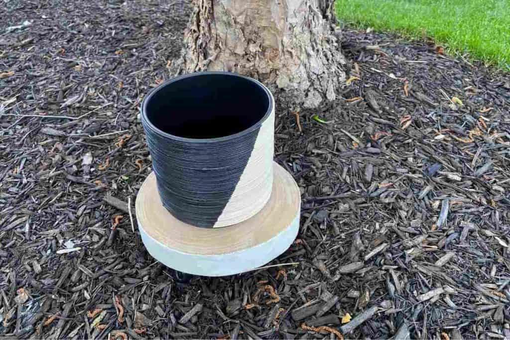 DIY Two tone Planter