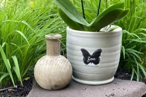 Unique Memorial Gift Personalized Planter Butterfly forever in our hearts