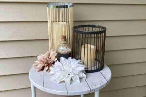 Wood Craft Candle Holder
