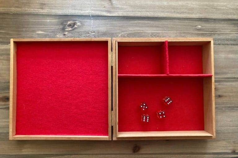 DIY Dice Tray – How To Make In Under 10 Minutes