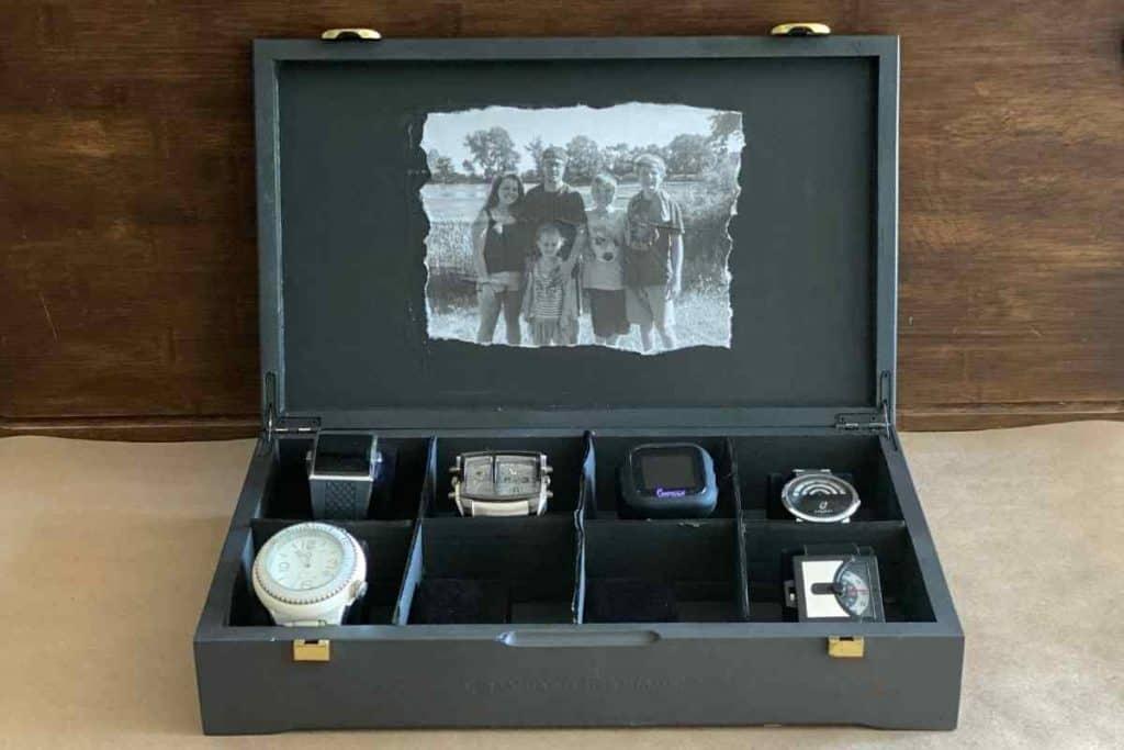 DIY WATCH BOX