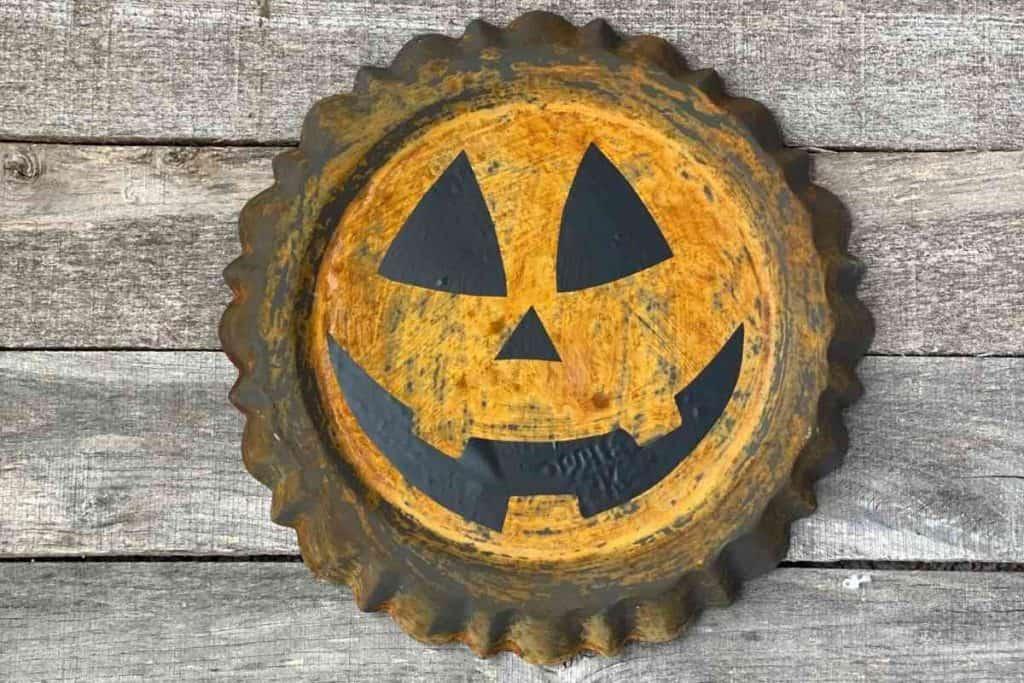 rust pumpkin diy