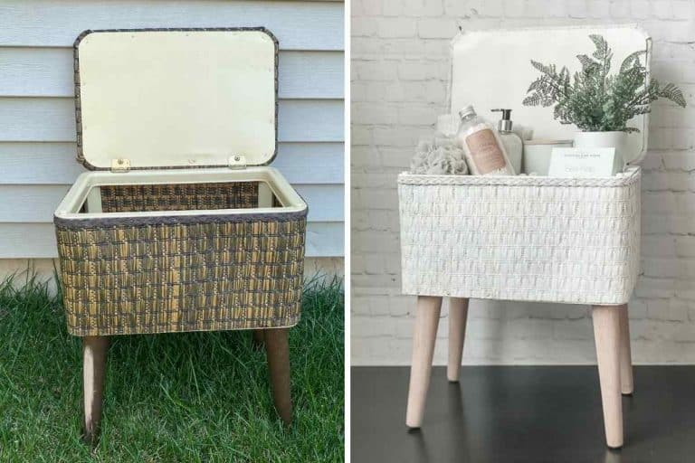 Sewing Basket Makeover – In A Few Simple Steps