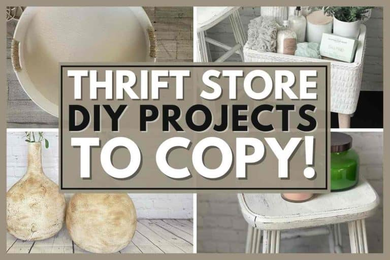 Thrift Store DIY Projects You'll Want To Copy