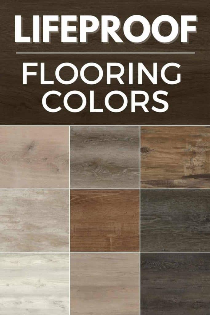 Lifeproof flooring color chart