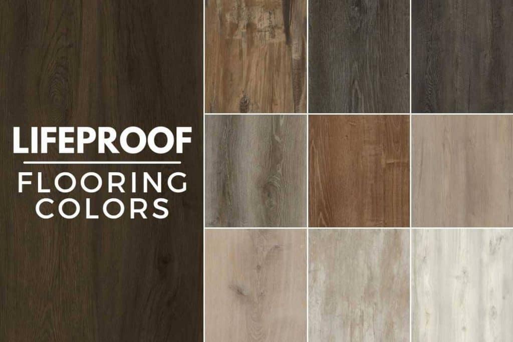 lifeproof flooring colors