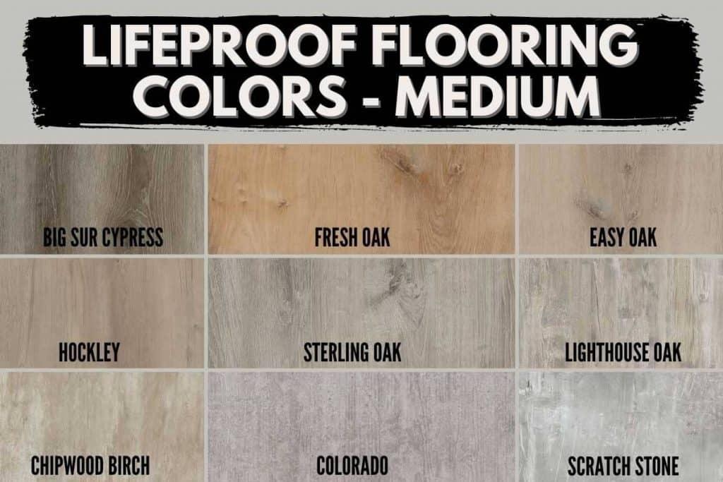 Lifeproof colors medium