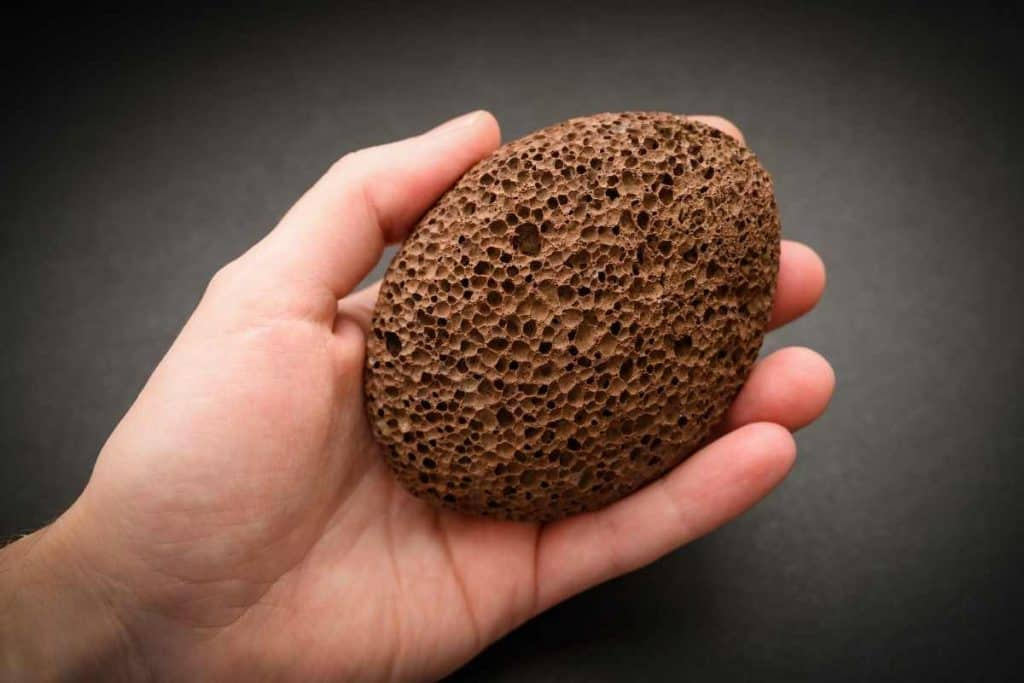 Pumice Stone To Remove spray paint from skin