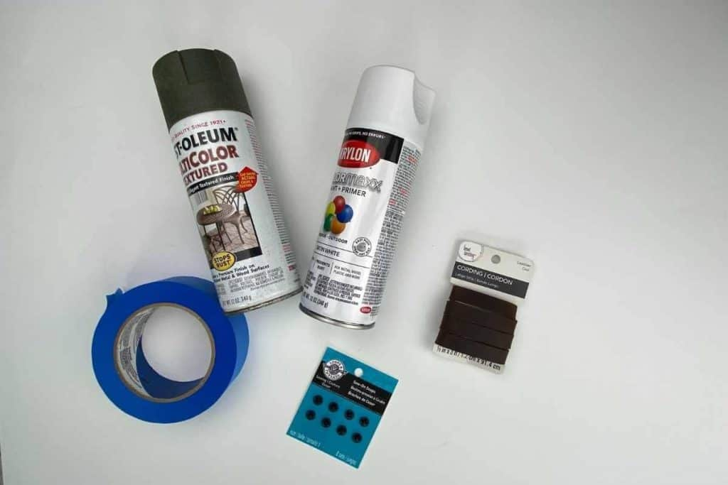 supplies for diy vase with handles